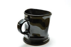 Glass ceramic black Stock Photos