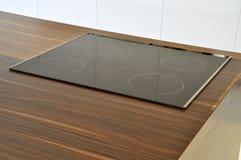Glass ceramic cooker Stock Image