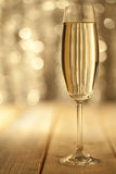 Glass of champage Royalty Free Stock Photography
