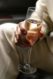 Glass of champagne - 1 Stock Photo