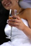 Glass with champagne Royalty Free Stock Photos