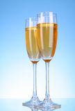 Glass with champagne Royalty Free Stock Photo