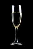 Glass of champagne Stock Images