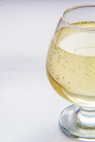 Glass of champagne. Close-up Royalty Free Stock Photography