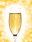 Glass of champagne Royalty Free Stock Photo