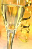 A glass of champagne Stock Photography