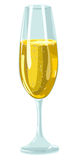 Glass With Champagne Stock Photo