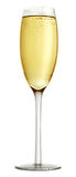 Glass of champagne Royalty Free Stock Image
