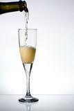 Glass of champange Stock Image