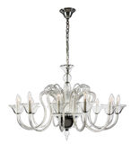 Glass Chandelier Royalty Free Stock Photos