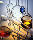 Glass - chemist Stock Photos