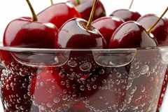 glass Cherry Royaltyfri Foto