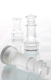 Glass chess Royalty Free Stock Photography