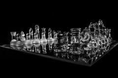 Glass Chess Stock Photos