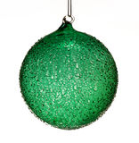 Glass christmas ball Royalty Free Stock Photos