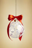 Glass Christmas ball Royalty Free Stock Photography