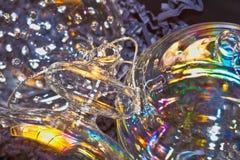 Glass christmas balls Stock Photography