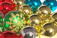 Glass Christmas Balls  Royalty Free Stock Photography