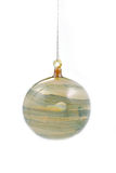 Glass christmas bauble Stock Photos