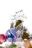 Glass Christmas deer Stock Photo