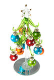 Glass Christmas tree Royalty Free Stock Image