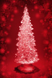 Glass Christmas tree Royalty Free Stock Photo