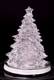 Glass Christmas tree Stock Photos