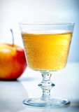 Glass of cider Royalty Free Stock Image