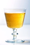 Glass of cider Stock Photography