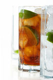 glass citrontea Royaltyfria Bilder