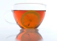 glass citrontea för kopp Royaltyfria Foton