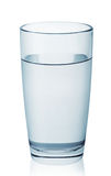 Glass of clean clear water Royalty Free Stock Photography