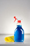Glass cleaner Stock Images