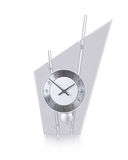 Glass clock Stock Photography