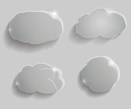Glass clouds Stock Photography