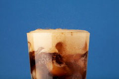 Glass of coca-cola Stock Image