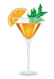 A glass of cocktail Stock Images