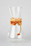 Glass coffee carafe Stock Images