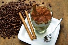 Coffee ice cream Royalty Free Stock Photography