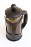 Glass coffee percolator Stock Images
