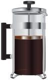Glass coffee press Stock Photography