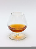 Glass of cognac. A glass of cognac / brandy Royalty Free Stock Image