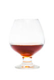 Glass of cognac Stock Photo