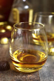 Glass of cognac. Royalty Free Stock Images