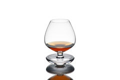 Cognac in a glass Royalty Free Stock Photos