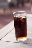 Glass of coke Royalty Free Stock Photography