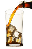 Glass of Coke Stock Photo