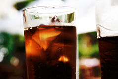 Glass of coke Stock Image