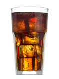 Glass of coke Stock Photography