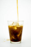 Glass of Coke Stock Photos
